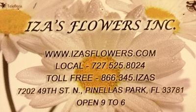 Iza's Flowers, Inc.