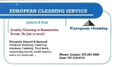Jolanta & Stan - European Cleaning Service