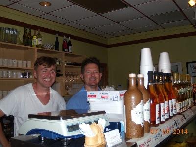 Polonia Polish Restaurant - Marek Andruniow and Rob Plummer