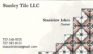 Stanley Tile, LLC - Stanisław Iskra