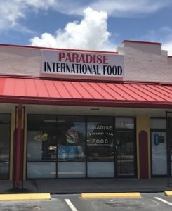 Paradise International Food Deli and Grocery Store – Irina and Rafael 11309 Starkey Rd., Largo, FL 33773 Paradise International Food Deli and Grocery Store is a local international deli in Largo, FL, where you can find lots of Polish and international food such as Polish sausages, cheeses, pierogis, Polish sweets and cakes, Polish condiments and spices and plenty of other European food. The owner, Irina, speaks Russian. Paradise International Food Deli jest lokalnym sklepem spożywczym w Largo na Florydzie, w którym możesz kupić żywność europejską, w tym produkty polskie m.in. wędliny, pierogi, sery, słodycze, ciasta i przyprawy polskie. Właścicielka, Irina, mówi po rosyjsku. (727) 873 – 3950