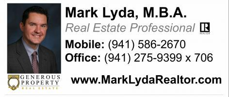 "Mark Lyda, M.B.A. – Realtor at Generous Property –  1227 N Gulfstream Ave., Sarasota, FL 34236 – Mark Lyda is a Polish REALTOR based in Sarasota, FL and working in Sarasota/Manatee/Charlotte Counties. Mark is a Civil (Structural) Engineer and a 20+ year veteran of the Residential and Commercial Construction market where he has managed Manufacturer sales teams across regions throughout the U.S.  Mark LOVES real estate and now brings his enthusiasm, professionalism and experience to help you achieve your dream of living in paradise! Mark is active with the Sarasota-Manatee board of REALTORS®.  He holds an M.B.A. in General Business Management and Bachelor of Civil Engineering – both degrees earned at Youngstown State University in Youngstown, Ohio. Mark and his wife, Kathleen, have embraced the Sarasota lifestyle while raising their 5 young children.  School activities, swim team, tennis, water sports and MUSIC are among their family and community activities.  An accomplished pianist and vocalist, Mark also assists his wife in leading the music ministry at Our Lady of Mt. Carmel Catholic Church in Osprey.  Following a decade as part-time residents of Venice, FL, the Lyda family moved permanently from Ohio to Sarasota, FL in 2016 and are thrilled to live in Paradise!  Throughout these years, a number of real estate deals have bolstered Mark's passion for real estate! (i.e., new home construction, transacting/owning vacation home(s), rental property, and even owning and operating an historic, commercial Bed-and-Breakfast in Poland, OH). A native of Krakow, Poland, Mark also speaks fluent Polish and embraces the culture and traditions of his European roots.  He is happily active in the considerable Polish community in Sarasota and surrounding area. ""It would be a pleasure and an honor to work for you.""  –  – Marek Lyda jest licencjonowanym polskim pośrednikiem nieruchomości  w Sarasocie, na Florydzie. Marek obsługuje klientów w hrabstwach Sarasota, Manatee oraz Charlotte. Mark jest z wykształcenia inżynierem  i przedsiębiorcą. Jest również utalentowanym muzykiem. Pasją Marka są nieruchomości. Marek pochodzi z Krakowa i mówi biegle po polsku.  – Cell: (941) 586-2670 – Office: (941) 586-2670 – Email: mark@generousproperty.com  –  –  – www.MarkLydaRealtor.com –"