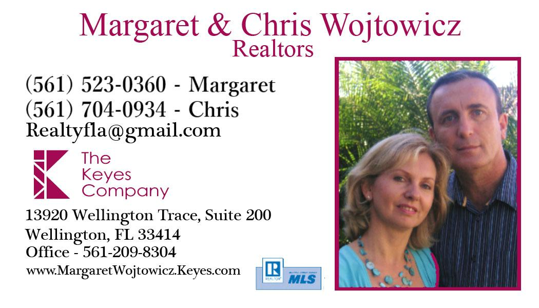 Margaret and Chris Wojtowicz - Realtors in Palm Beach County