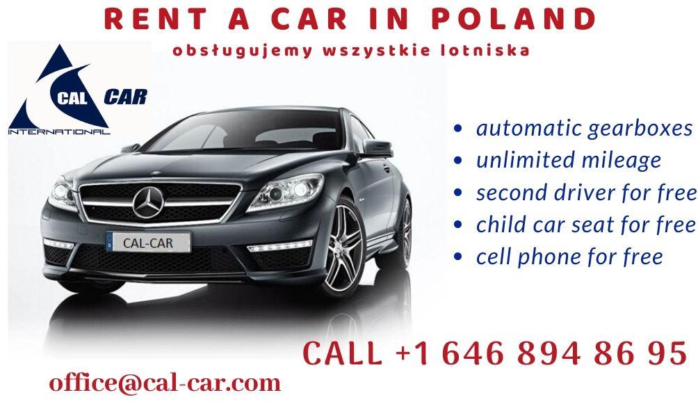 Car Rental – Polska Wypożyczalnia Samochodów – Cal Car International, Monika Niewiadomska