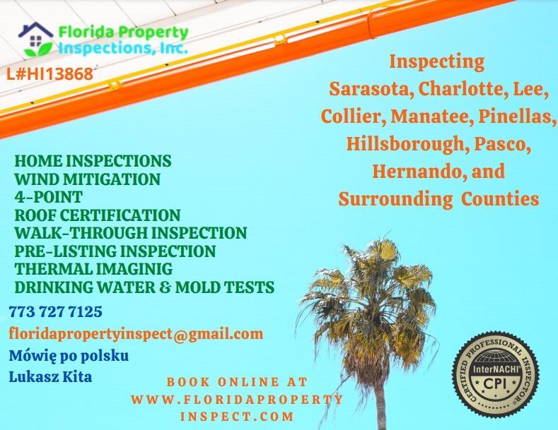 Lukasz, Kita, Polish, Home Inspector, Polski, inspektor, nieruchomości, Floryda, Florida